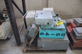 MISC. ELECTRICAL CONTROL BOXES ON SKID