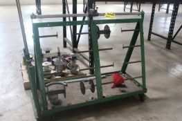 """PORTABLE WIRE CART, 60' X 24"""" X 48"""""""