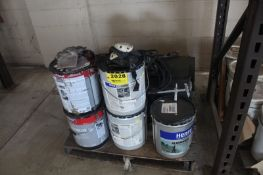 ASSORTED ROOFING MATERIAL ON SKID