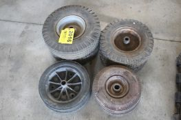 (4) ASSORTED SETS OF WHEELS