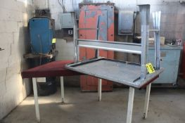 (2) ASSORTED WORK BENCHES