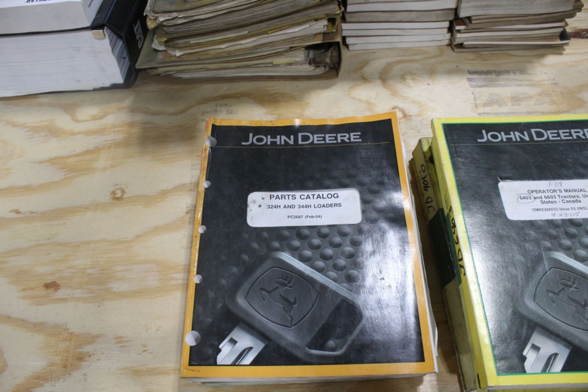ASSORTED JOHN DEERE AND VOLVO SERVICE MANUALS - Image 2 of 3