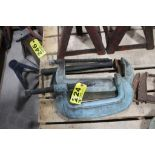 (2) ARMSTRONG NO. 10 C-CLAMPS AND HAVENS C-CLAMP