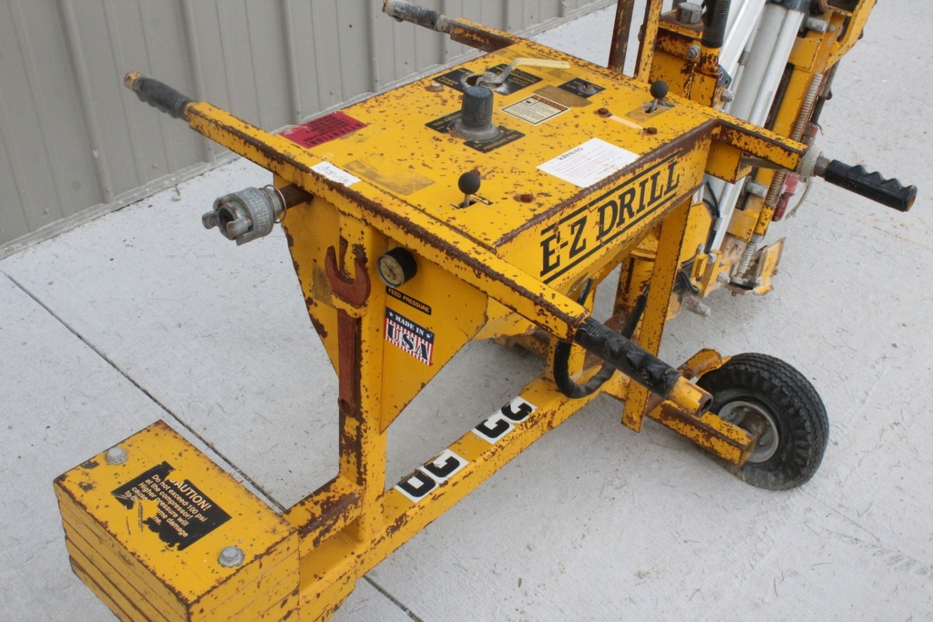 EZ-DRILL HORIZONTAL REBAR DRILL MODEL 210B, S/N 2075, WITH CORE DRILL ATTACHMENT - Image 2 of 5