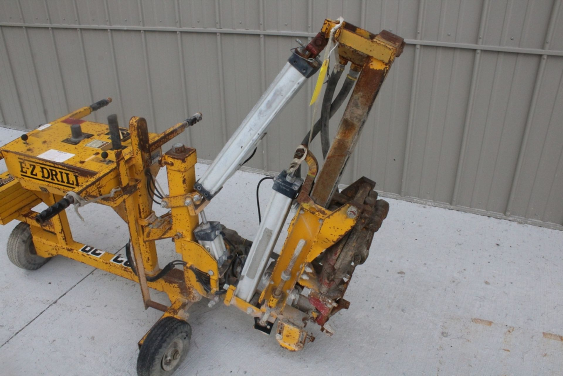 EZ-DRILL HORIZONTAL REBAR DRILL MODEL 210B, S/N 2075, WITH CORE DRILL ATTACHMENT - Image 3 of 5