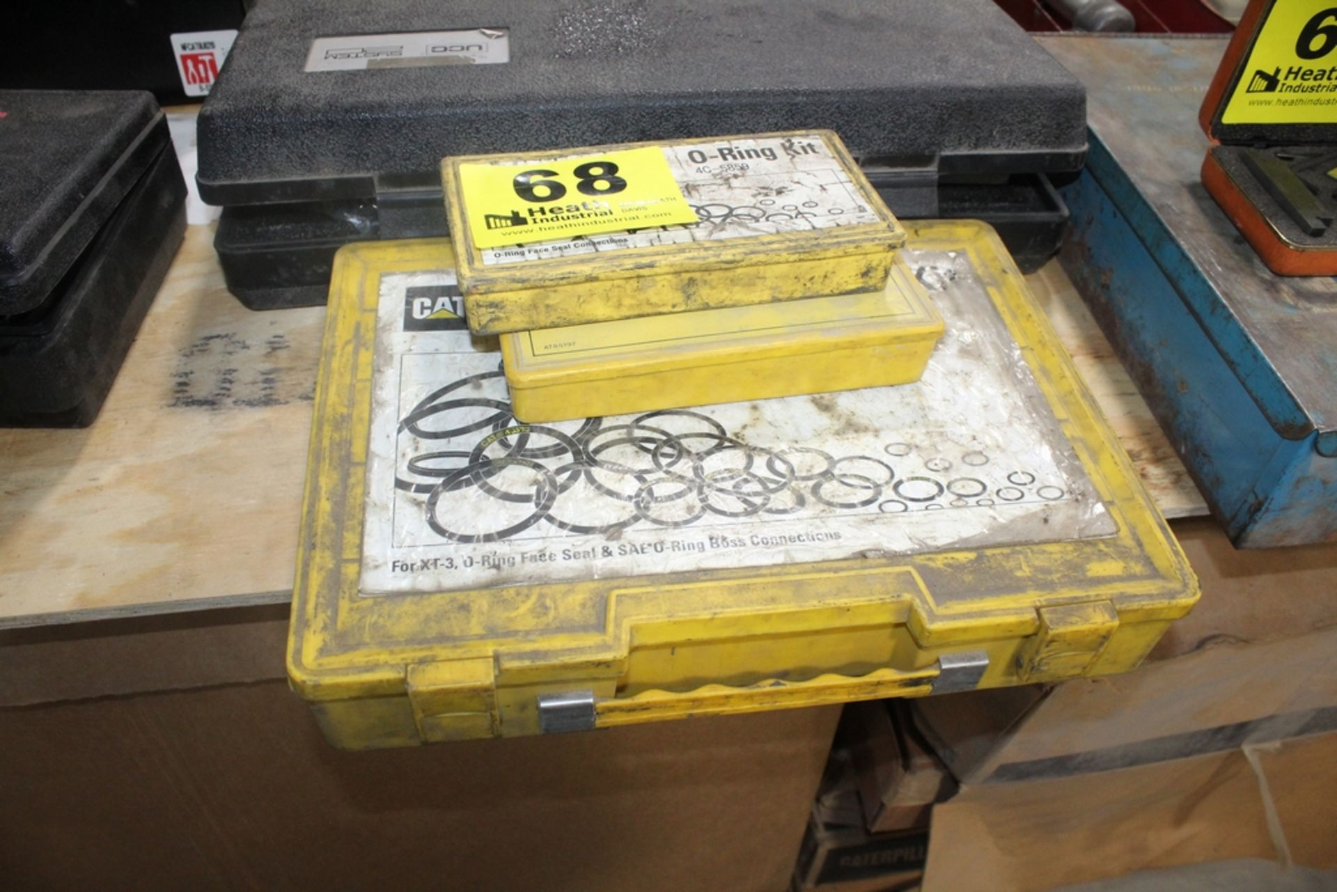 (3) CASES WITH 0-RING KITS