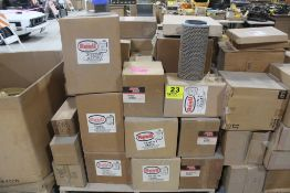 LARGE ASSORTMENT OF RENU AIR FILTERS ON PALLET