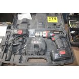CRAFTSMAN, 19.2-VOLT CORDLESS DRILL WITH CHARGER, BATTERY AND CASE