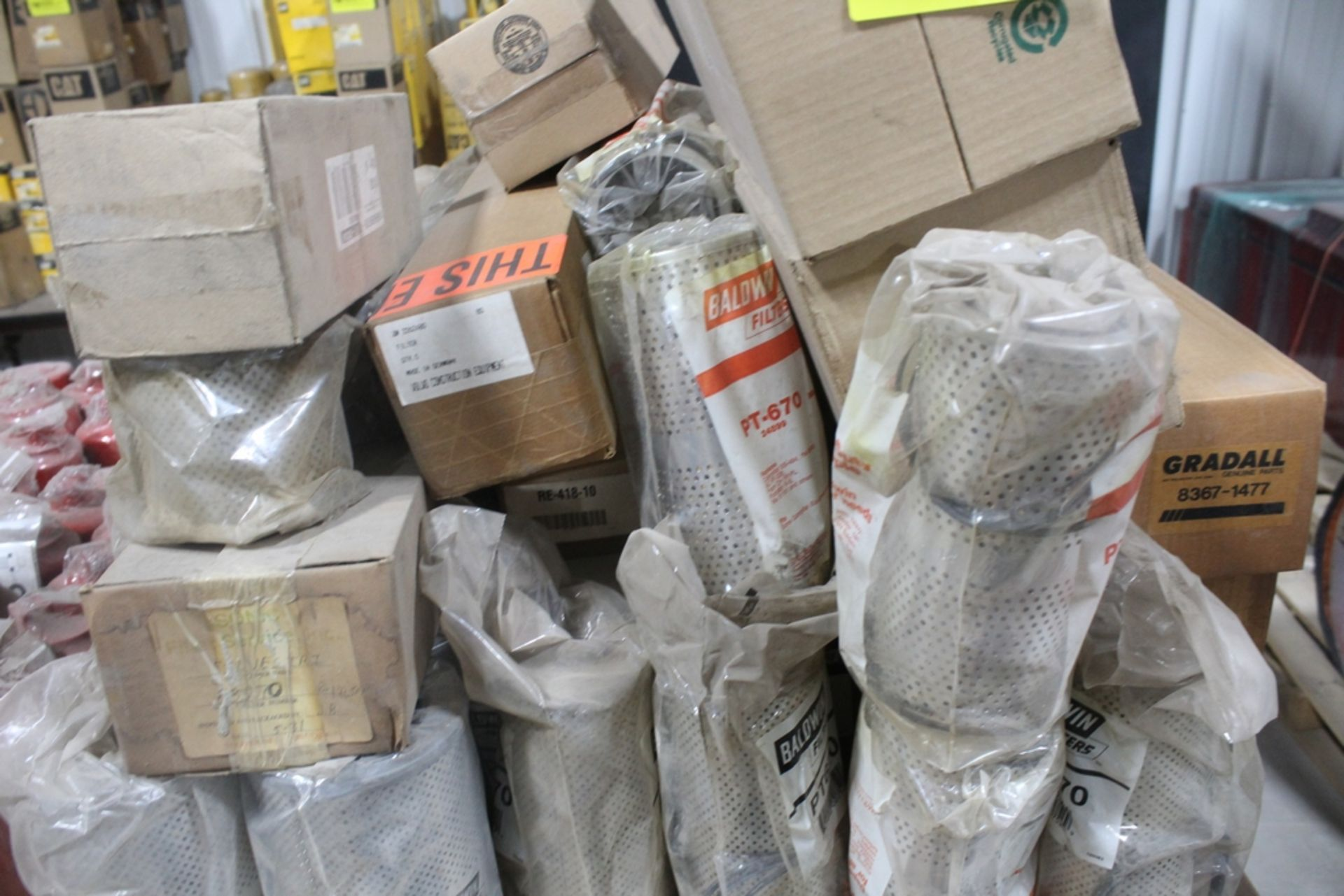 LARGE ASSORTMENT OF BALDWIN AND CASE ELEMENT FILTERS - Image 2 of 2