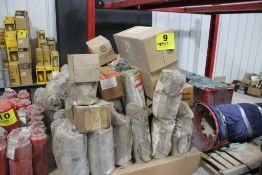 LARGE ASSORTMENT OF BALDWIN AND CASE ELEMENT FILTERS