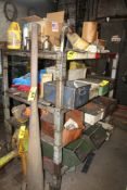 """(1) SECTION 54"""" X 37"""" X 52"""" STEEL SHELVING (DELAYED REMOVAL)"""