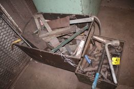 (2) STEEL BINS WITH CONTENTS