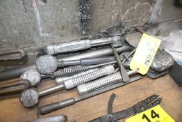 ASSORTED LEAD HAMMERS