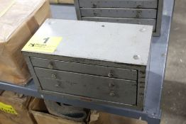 HUOT THREE DRAWER FRACTIONAL DRILL CABINET WITH DRILLS