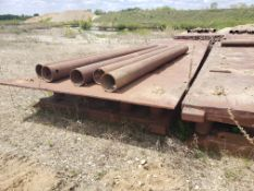 """8' X 24' TRENCH BOX WITH (4) 13' & (1) 12'8"""" SPREADER BARS"""