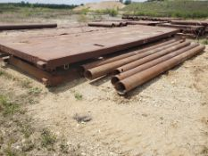 8' X 24' TRENCH BOX WITH (5) 16' SPREADER BARS