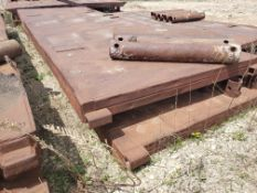 8' X 24' TRENCH BOX WITH (5) 5' SPREADER BARS