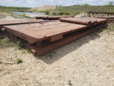 8' X 28' TRENCH BOX WITH (5) 7' SPREADER BARS