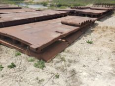 8' X 20' TRENCH BOX WITH (5) 4' SPREADER BARS