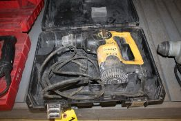 "DEWALT MODEL D25303 1"" SDS ROTARY HAMMER WITH CASE"