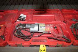 MILWAUKEE ELECTRIC SAWZALL WITH CASE