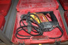 HILTI MODEL TE 5 ROTARY HAMMER WITH CASE
