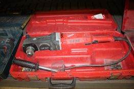 """MILWAUKEE CAT NO. 1680-20 1/2"""" SUPER HAWG RIGHT ANGLE DRILL WITH CASE"""