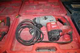"""MILWAUKEE CAT NO. 5363-21 1"""" ROTARY HAMMER WITH CASE"""