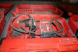 HILTI MODEL TE 24 ROTARY HAMMER WITH CASE
