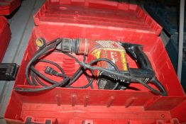 HILTI MODEL TE15 ROTARY HAMMER WITH CASE