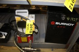 BURNDY MODEL EPP SERIES HYDRAULIC PUMP WITH CASE AND PENDANT CONTROLS