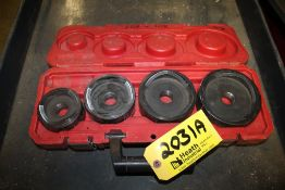 MILWAUKEE MODEL 2695 KNOCKOUT SET WITH CASE