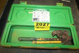 GREENLEE 796 RATCHET CABLE BENDER WITH CASE