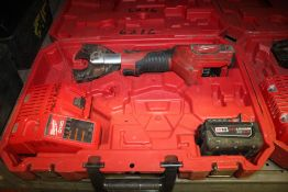 MILWAUKEE M18 CORDLESS CABLE CUTTER WITH CASE, BATTERY, CHARGER