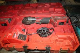 MILWAUKEE M18 CORDLESS CABLE CUTTER WITH CASE, CHARGER(NO BATTERY)