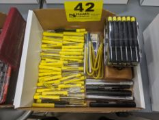 ASSORTED ASSEMBLY TOOLS IN BOX