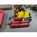 MILWAUKEE SCREWDIRVERS WITH CHARGER & BATTERIES