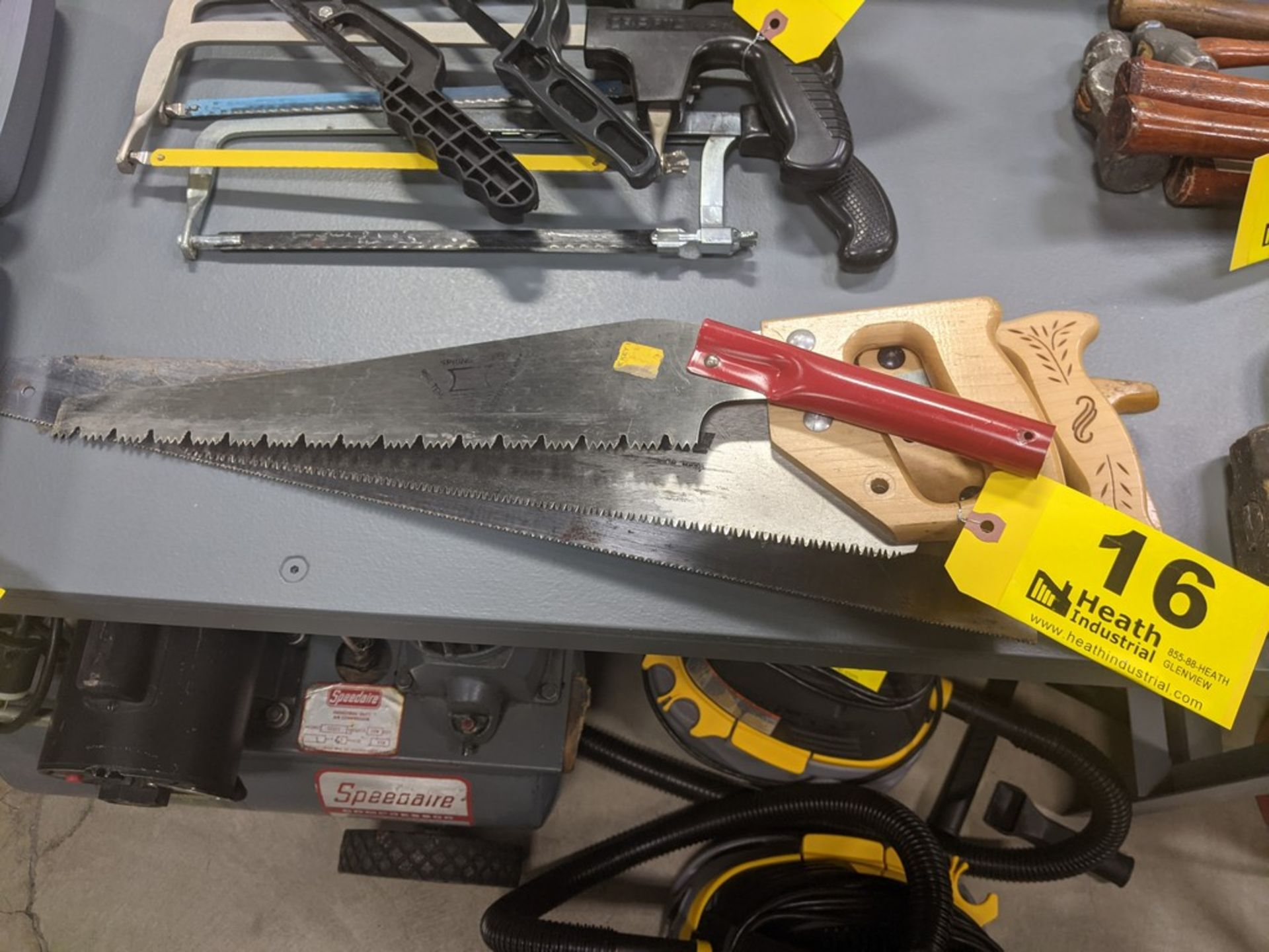 (4) ASSORTED HAND SAWS