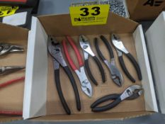 (6) ASSORTED PLIERS