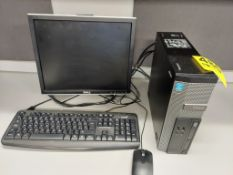 DELL OPTIPLEX 3020 INTEL I5 CORE DESKTOP COMPUTER WITH FLATSCREEN MONITOR, KEYBOARD AND MOUSE