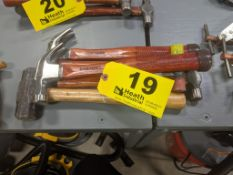(5) ASSORTED MALLETS & CLAW HAMMERS