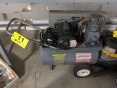 SPEEDAIRE MODEL 32322 1/2 HP PORTABLE AIR COMPRESSOR