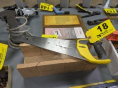 STANLEY SAW WITH WOOD MITRE BOX