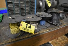 (4) SPOOLS OF WIRE