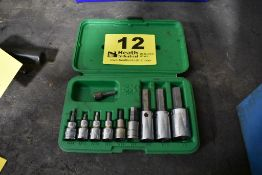 SK TOOLS ALLEN WRENCH SOCKET SET WITH CASE
