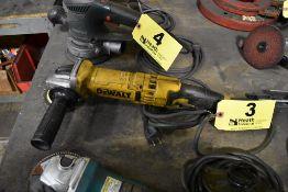 """DEWALT MODEL DWE4311 4"""" ANGLE GRINDER"""