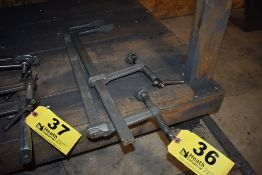 (2) LARGE F-CLAMPS