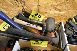 HAMMERS & MALLETS IN BOX