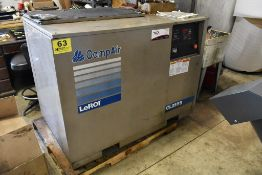 LEROI/COMP AIR 25 HP MODEL CL25SSA ROTARY SCREW AIR COMPRESSOR, S/N 4559X18, 125 PSI