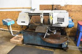 """ACRA 13"""" (330MM) MODEL HSRS-330S AUTOMATIC HORIZONTAL BAND SAW, S/N 111, WITH SWIVEL BASE"""